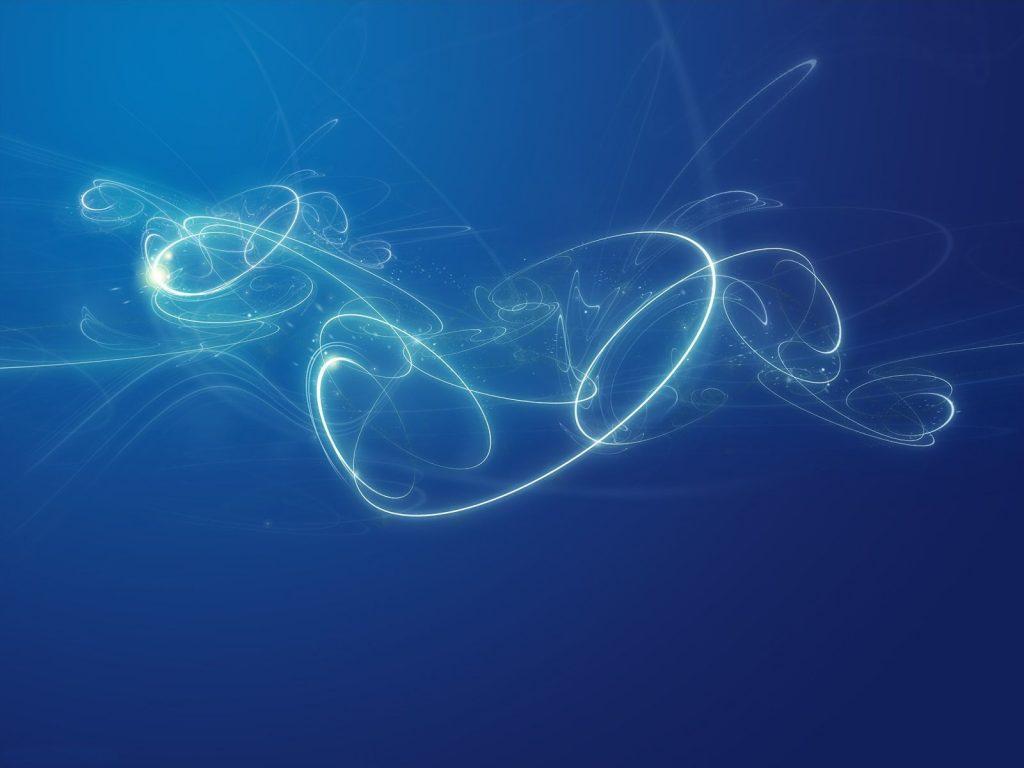 magic blue light